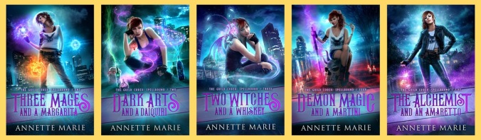 Urban Fantasy Book Series Review